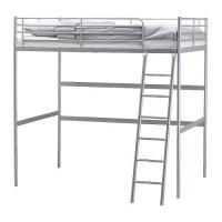 TROMSÖ Hochbettgestell, weiß von IKEA