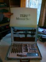 Foto 4 TUFF-Messer- Besteckkoffer, nicht benutzt, zu verkaufen