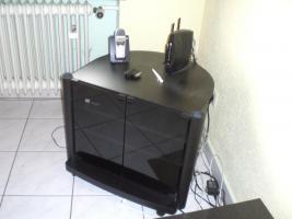 Foto 2 TV-Tisch in schwarz