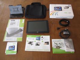 Tablet Acer Iconia A510 sehr guter Zustand mit viel Zubehör.