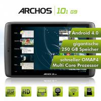 Tablet Archos 101 G9 Turbo, 250 GB HDD, 10.1 Zoll, GPS, --NEU-- 1.5 GHz - Android 4