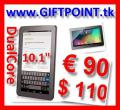 Tablet PC 10.1� DualCore 1,66 GHz nur � 91