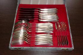 Tafelbesteck 90er Silber 12-teilig, nie benutzt