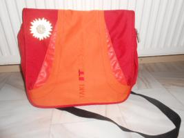 Take-it-easy Schultertasche orange/rot