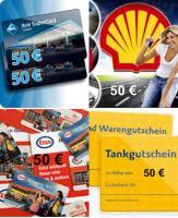 Tank Gutscheine  20 er Pack von Aral-Shell-Esso-Jet  je Gutschein Wert 50 € ges. Wert 1000 €  für nur 760 €