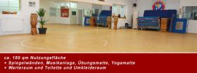 Tanzraum, Tainingsraum, Übungsraum, Kampfsportraum, Yoga...