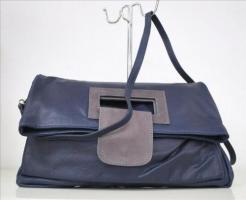 Foto 4 Tasche Handtasche Damentasche Echt Leder Shopper