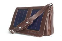 Tasche - Sunny BAG Solartasche Business Class Executive mocca