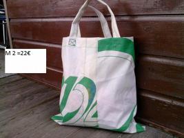 Foto 2 Taschen + Bags aus echten Segeln, handgefertigte Einzelstücke