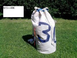 Foto 5 Taschen + Bags aus echten Segeln, handgefertigte Einzelstücke