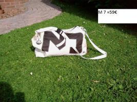 Foto 7 Taschen + Bags aus echten Segeln, handgefertigte Einzelstücke