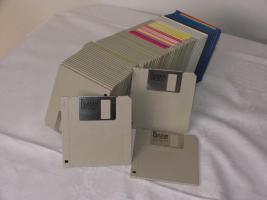 Tausche 100 Disketten gegen 1 Tafel Schokolade