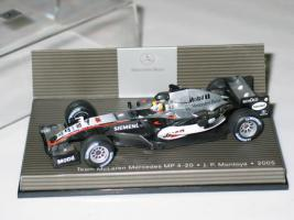 Foto 2 Team McLaren Mercedes MP4-20 J.P.Montoya Neu