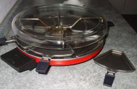Foto 2 Tefal Raclette Grill mit Glashaube