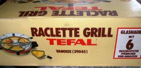 Foto 4 Tefal Raclette Grill mit Glashaube