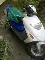 Foto 2 Teile-Motorroller