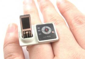 ' Telefon mit Ab ' Ring