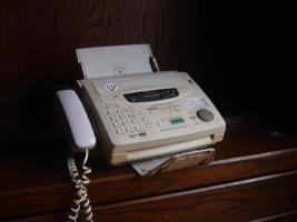 Telefon, Faxgerät und Kopierer