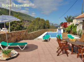 Teneriffa Ferienhaus San Marco mit Pool  unmittelbar am Meer