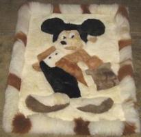 Teppich Alpakafellteppich