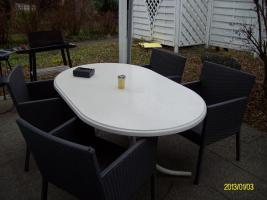 Terassen - Rattan - Sitzgruppe
