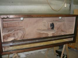 Terrarium 150cm komplett eingerichtet. Auch andere Maße möglich...