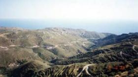 Terrassenförmiges Grundstück nahe Paleohora