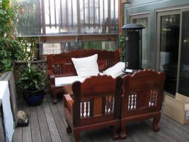 terrassenm bel aus massivem rosenholz in berlin von privat gartenm bel. Black Bedroom Furniture Sets. Home Design Ideas