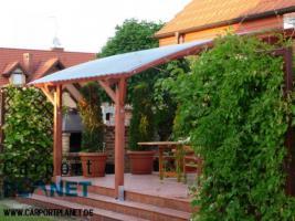 Foto 2 Terrassen�berdachungen Holz-Pergole