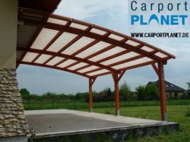 Foto 3 Terrassenüberdachungen Holz-Pergole Carport Planet