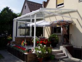 Terrassenüberdachungen mit Spiegelglas 6 x 3 m