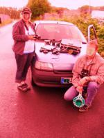 Foto 9 Testbericht Obramo Secuirty Shop - Koppel Halterungen für Gas FOX