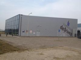 Foto 2 Theater Theaterkomplex Stahlkonstruktion Stahlhalle Gebrauchthalle Halle