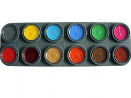 Theaterschminke Kinderschminke Profischminke Palette B
