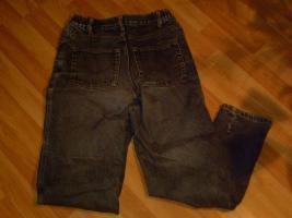 Foto 3 ThermoJeanshose-schwarz stonewash-Gr.36/38-