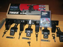 Thule 950 Fußsatz (4 Stück) für PKW ohne Regenr