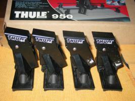 Foto 4 Thule 950 Fußsatz (4 Stück) für PKW ohne Regenr