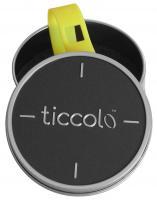 Foto 3 Ticcolo - Accessoires mit Zeitanzeige, Spülmaschinenfest, aus 100% Silikon (ideal für Allergiker), pink/grau