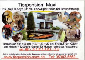Tierpension Maxi bei BS