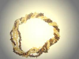 Tigeraugen-Halskette
