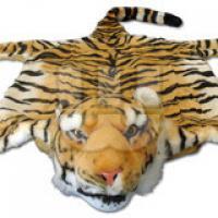 Tigerfell mit Kopf 88 cm