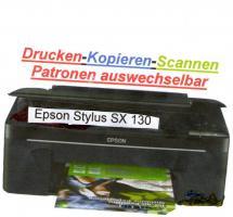 Tintenstrahldrucker Epson Stylus SX130 drucken, kopieren, scannen