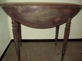 Foto 3 Tisch Jugendstil rund
