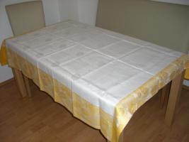 Tischdecken aus 100 % Leinen