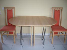 Tischgruppe terra/buche
