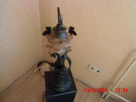 Tischlampe aus Schmiedeeisen