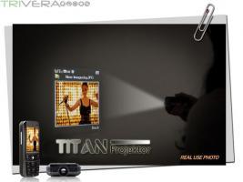 Foto 2 Titan Projector- WiFi Dual-SIM mit 5.6cm Touchscreen & Beamer!