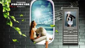 Titanium Projector Dual SIM Handy mit Beamer!!!
