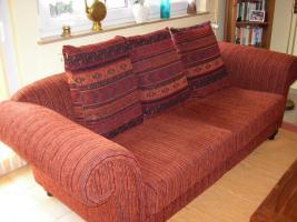Tolle, gepflegte 2 Sitzer Couch, aus Nichtraucherhaushalt und ohne Haustiere
