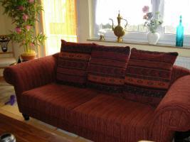 Foto 2 Tolle, gepflegte 2 Sitzer Couch, aus Nichtraucherhaushalt und ohne Haustiere